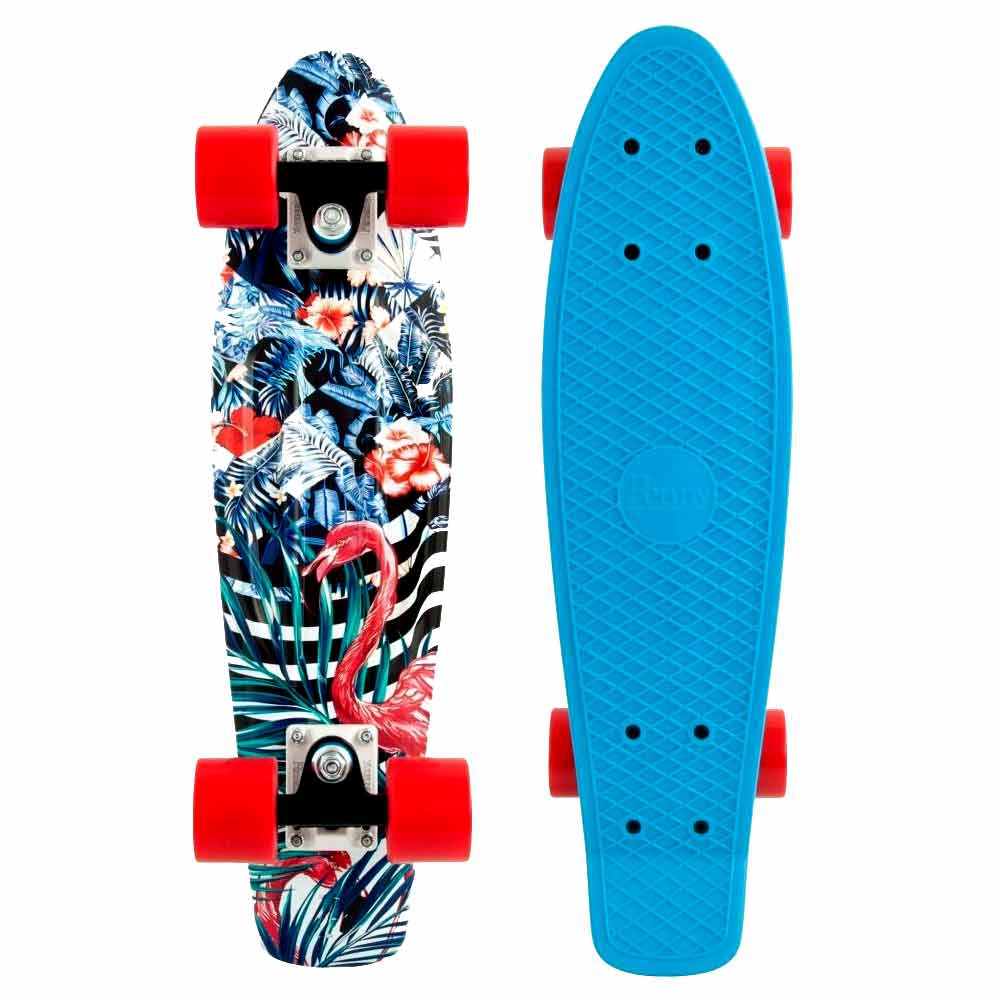 Penny Board Graphic Serie 22'' Flamingo Forest