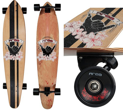 Area longboard Wood 46
