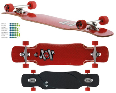 Flying Wheels Diavolo DT longboard