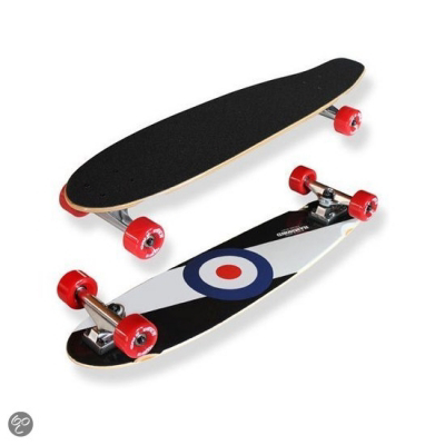 Hammond Abbey Road Kicktail Longboard