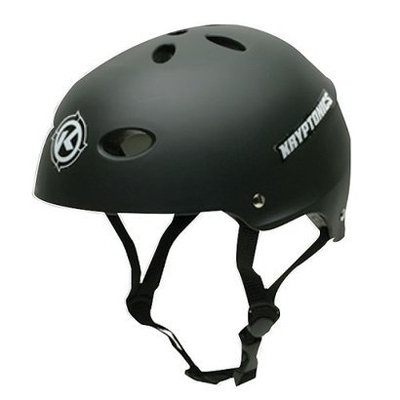Kryptonics helm zwart (S/M)