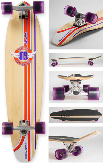 Mindless Corsair 97cm kicktail Purple