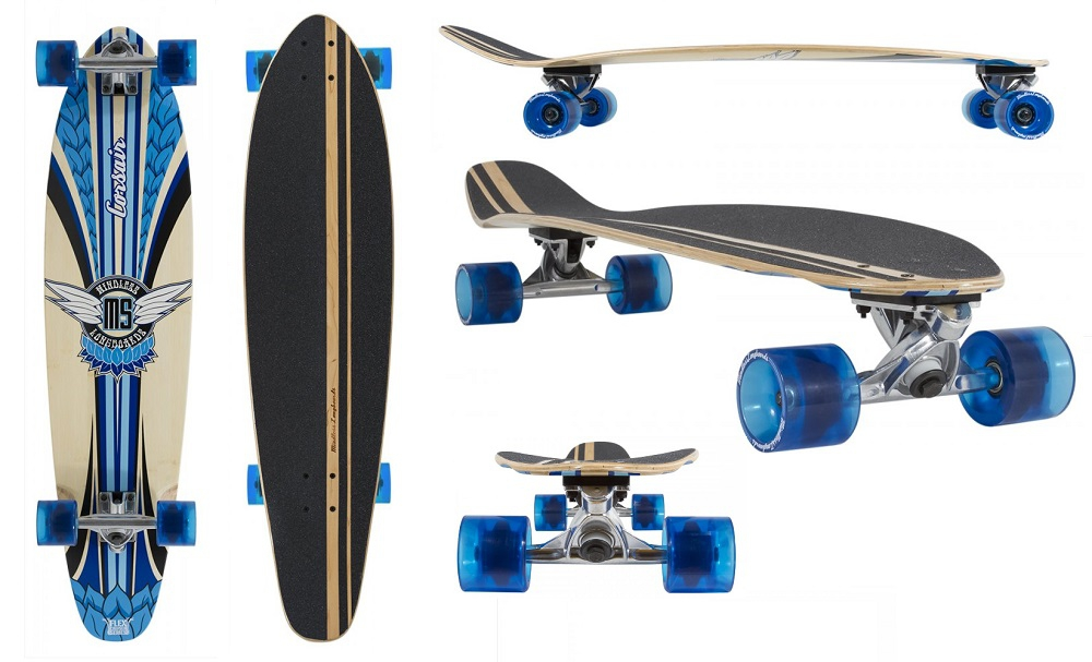 Mindless Corsair V2 kicktail Blue Longboard