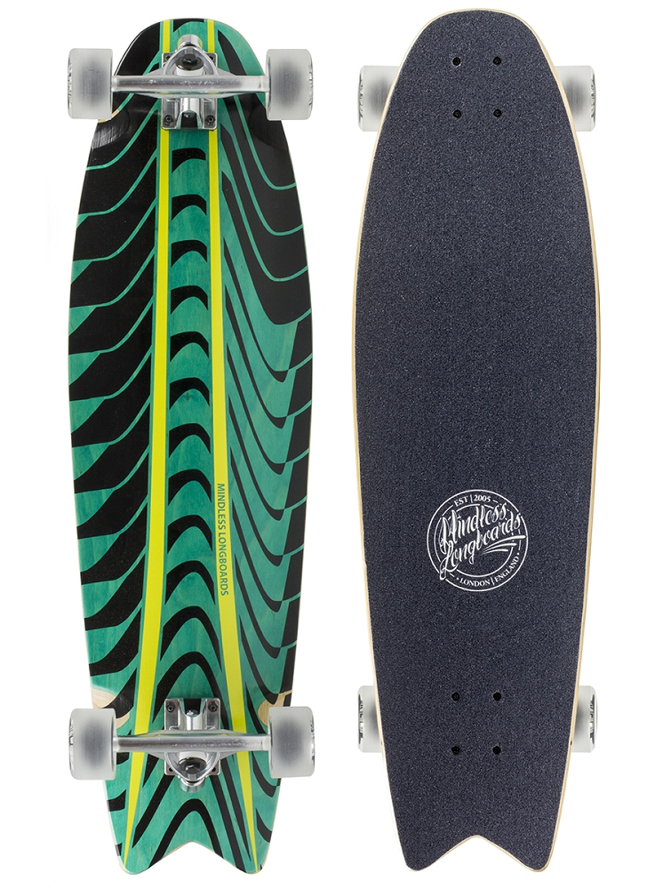 Mindless Longboard Rogue Swallow Tail green