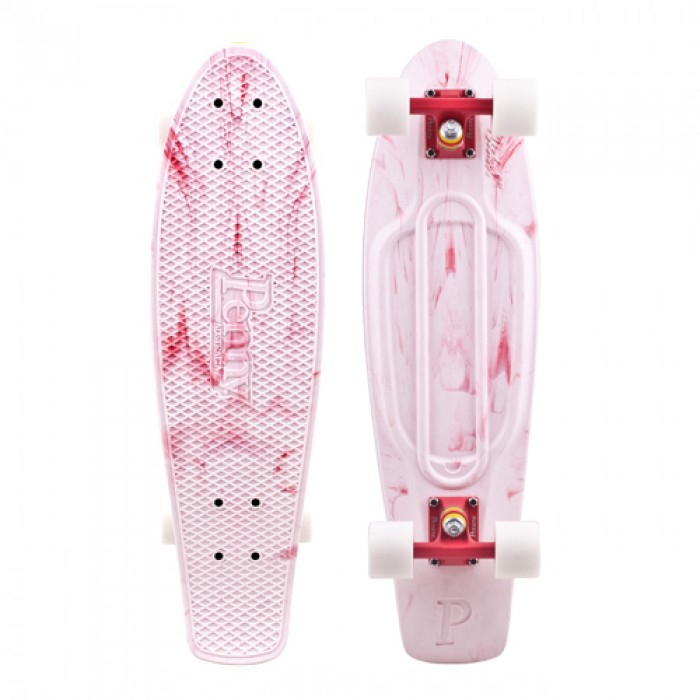 Penny Board Limited Classic 27'' Marble Pink