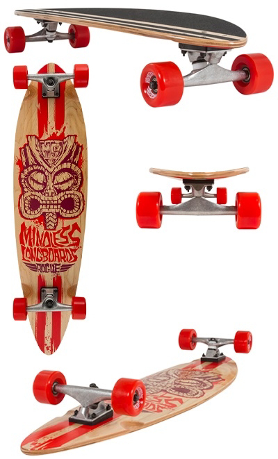 Mindless Longboard Rogue II Red