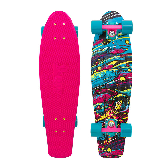 Penny Board Graphic 27'' Sea Space