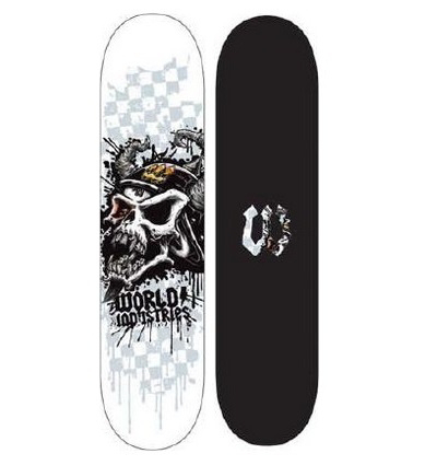 World Indus. Skateboard Motorhead